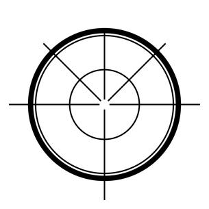 照準のイラスト素材 [FYI00890017]