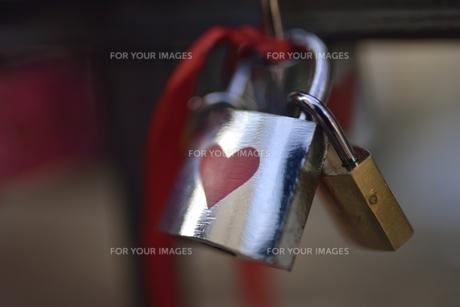 愛の誓い(チェコ・プラハ歴史地区)の写真素材 [FYI00890041]
