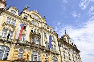 チェコ・プラハ歴史地区(旧市街広場)の写真素材 [FYI00890123]