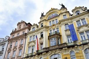 チェコ・プラハ歴史地区(旧市街広場)の写真素材 [FYI00890126]