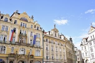 チェコ・プラハ歴史地区(旧市街広場)の写真素材 [FYI00890129]