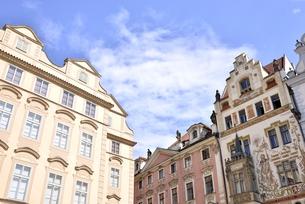 チェコ・プラハ歴史地区(旧市街広場・チェレトナ通り方面)の写真素材 [FYI00890142]