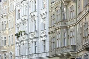 チェコ・プラハ歴史地区(マイセロヴァ通り)の写真素材 [FYI00890146]