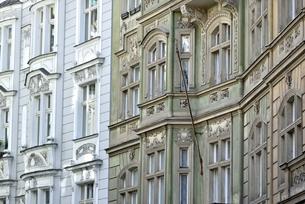 チェコ・プラハ歴史地区(マイセロヴァ通り)の写真素材 [FYI00890147]