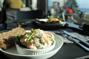 カフェで地元料理の写真素材 [FYI00890157]