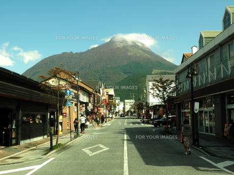 由布岳の秋 大分県の写真素材 [FYI00890170]