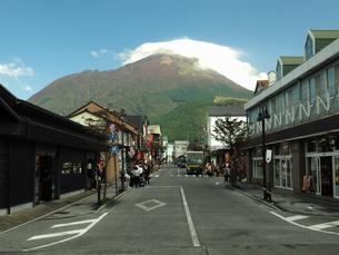由布岳の秋 大分県の写真素材 [FYI00890171]