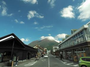 由布岳の秋 大分県の写真素材 [FYI00890173]
