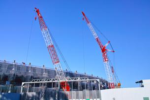 建設中の新国立競技場の写真素材 [FYI00890320]