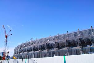 建設中の新国立競技場の写真素材 [FYI00890322]