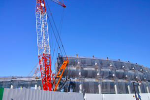 建設中の新国立競技場の写真素材 [FYI00890327]
