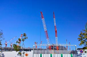 建設中の新国立競技場の写真素材 [FYI00890329]