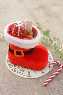 クリスマスブーツの写真素材 [FYI00890488]