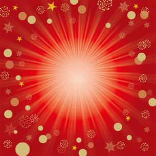 クリスマス向け背景画像 赤の背景|Merry Xmasのイラスト素材 [FYI00890550]