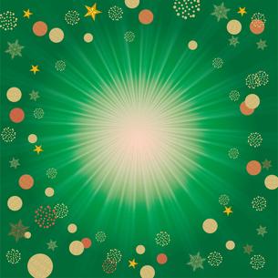 クリスマス向け背景画像 グリーンの背景|Merry Xmasのイラスト素材 [FYI00890551]
