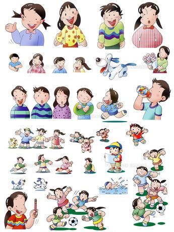 子供の生活のイラスト素材 [FYI00890915]