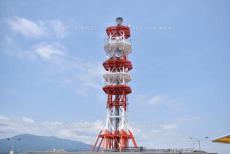 電波塔の写真素材 [FYI00892036]