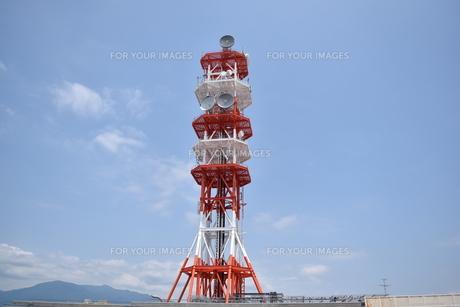 電波塔の写真素材 [FYI00892037]