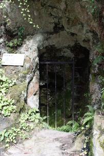 石見銀山の風景 間歩(立坑)の写真素材 [FYI00892745]