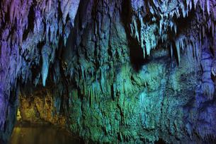 碧い洞窟の写真素材 [FYI00892761]