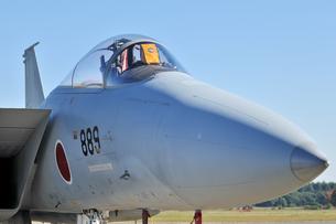 航空自衛隊のF-15戦闘機の写真素材 [FYI00892903]