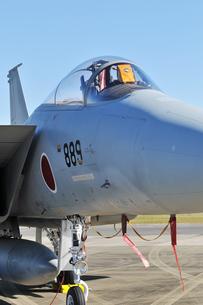 航空自衛隊のF-15戦闘機の写真素材 [FYI00892904]