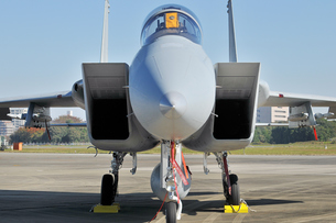 航空自衛隊のF-15戦闘機の写真素材 [FYI00892906]