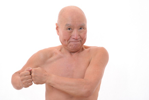 日本人シニアの健康な体の写真素材 [FYI00893108]
