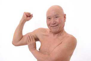 日本人シニアの健康な体の写真素材 [FYI00893114]
