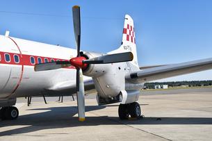 航空自衛隊のYS-11の写真素材 [FYI00893248]