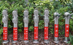消火栓の写真素材 [FYI00894093]