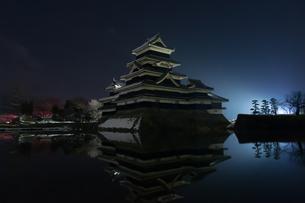 静寂の夜の写真素材 [FYI00894449]