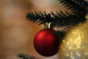クリスマスオーナメントの写真素材 [FYI00894462]