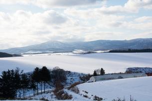 雪原の写真素材 [FYI00894497]