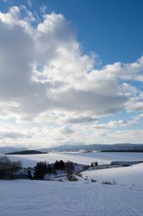 雪原の写真素材 [FYI00894498]