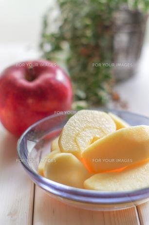 秋の味覚、林檎の写真素材 [FYI00894961]