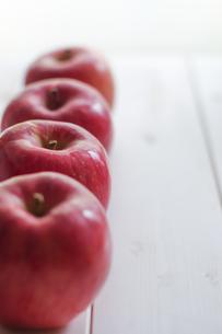 秋の味覚、林檎の写真素材 [FYI00894965]