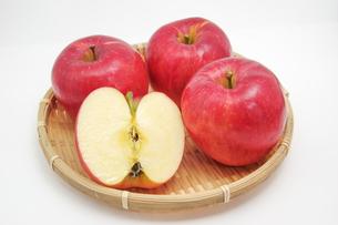 秋の味覚、林檎の写真素材 [FYI00895013]