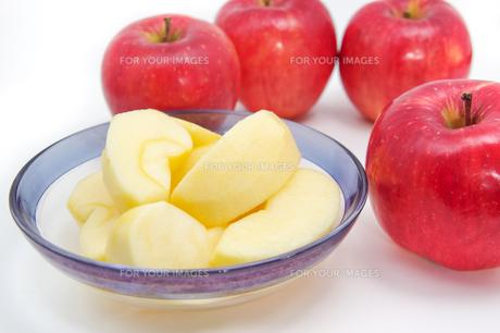 秋の味覚、林檎の写真素材 [FYI00895023]