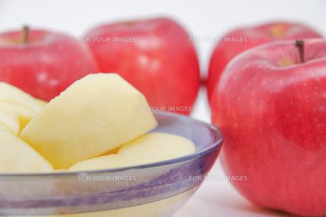秋の味覚、林檎の写真素材 [FYI00895024]