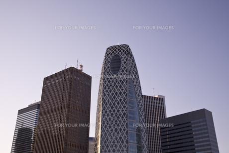 新宿駅西口高層ビル群の素材 [FYI00895577]