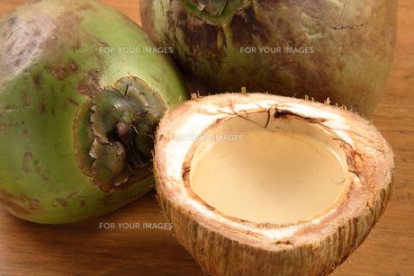 椰子の実の素材 [FYI00897833]