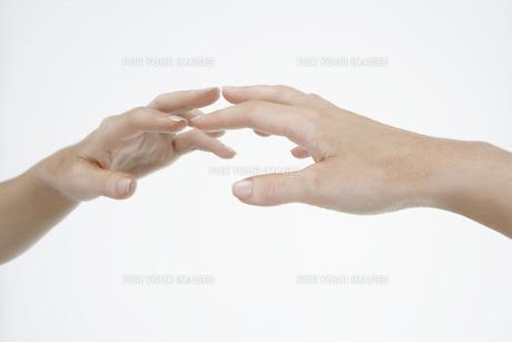 Hand touching mirrorの素材 [FYI00900694]