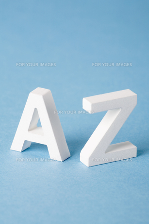 Letters A and Zの素材 [FYI00900832]