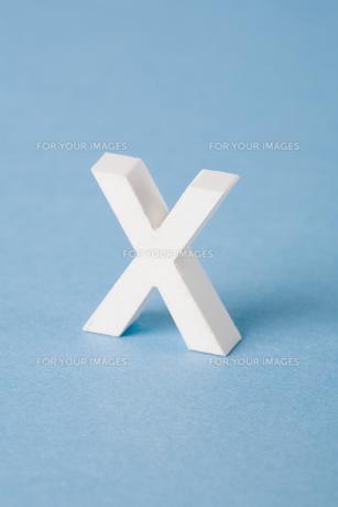 Letter Xの素材 [FYI00900834]