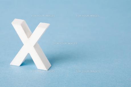 Letter Xの素材 [FYI00900855]