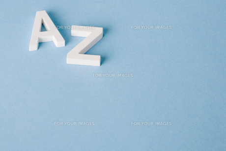 Letters A and Zの素材 [FYI00900859]