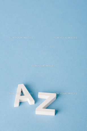 Letters A and Zの素材 [FYI00900861]