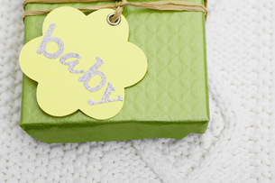 Close-up of baby giftsの素材 [FYI00902856]