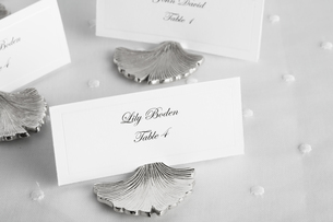 Place cards for wedding guestsの素材 [FYI00903060]
